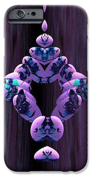 Gina Lee Manley iPhone Cases - Mirror Image iPhone Case by Gina Lee Manley