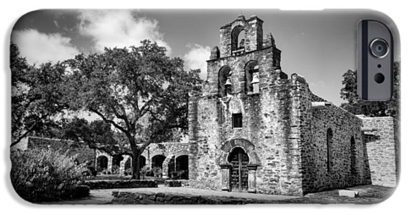 Facade iPhone Cases - Mission Espada #1 iPhone Case by Stephen Stookey