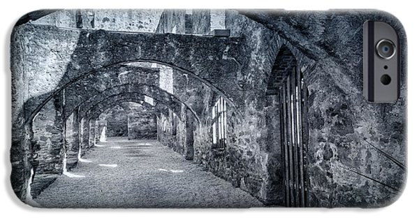 Historic Site iPhone Cases - Mission San Jose Convento iPhone Case by Joan Carroll