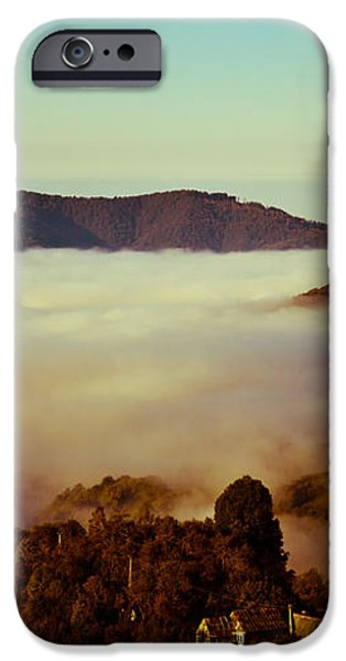 Mist over Apuseni iPhone Case by Gabriela Insuratelu