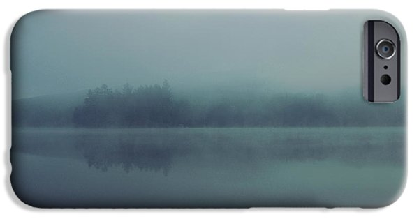 Fog Mist iPhone Cases - Misty Morning iPhone Case by Aaron Rushin