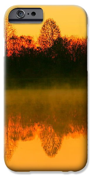 Misty Sunrise iPhone Case by Morgan Hill