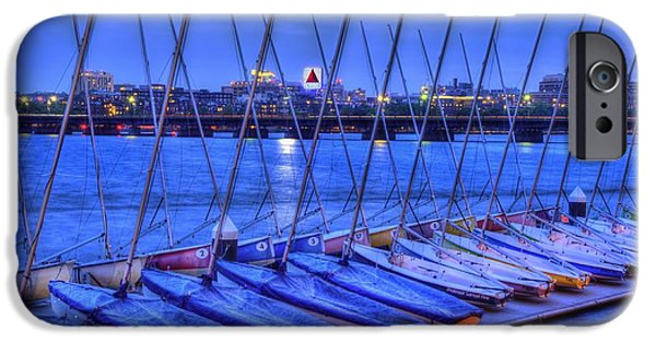 Sailboats iPhone Cases - MIT Sailing Pavilion iPhone Case by Joann Vitali