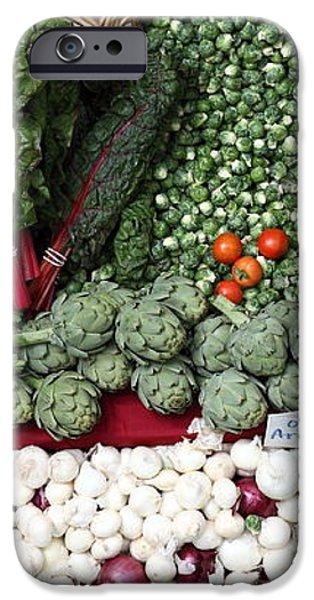 Mixed Vegetables - 5D17086 iPhone Case by Wingsdomain Art and Photography