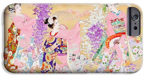 Culture iPhone Cases - Miyako Odori iPhone Case by Haruyo Morita