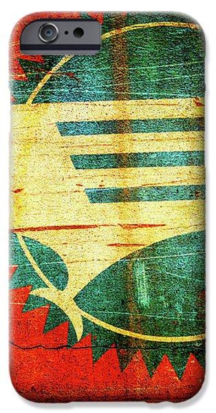 Mo-Pac Caboose  iPhone Case by Toni Hopper