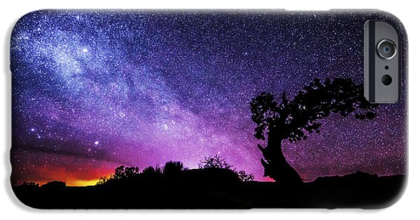Astronomy iPhone Cases - Moab Skies iPhone Case by Chad Dutson
