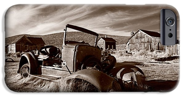 Abandoned iPhone Cases - Model A Bodie iPhone Case by Steve Gadomski