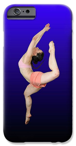 Recently Sold -  - Cut-outs iPhone Cases - Modern Dancer  iPhone Case by Ilan Rosen