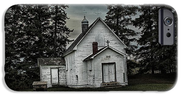Creepy iPhone Cases - Mohilla Church iPhone Case by Ryan Crouse