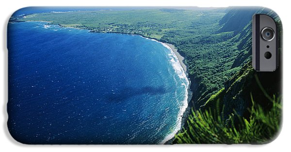 Sickness iPhone Cases - Molokai, View iPhone Case by Ali ONeal - Printscapes