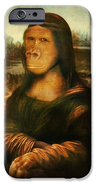 Spoof iPhone Cases - Mona Rilla iPhone Case by Gravityx9 Designs