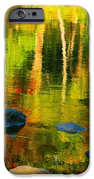 Monet Autumnal iPhone Case by Aimelle