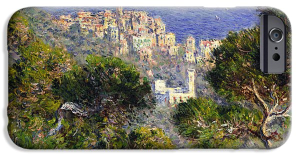 1884 iPhone Cases - Monet: Bordighera, 1884 iPhone Case by Granger