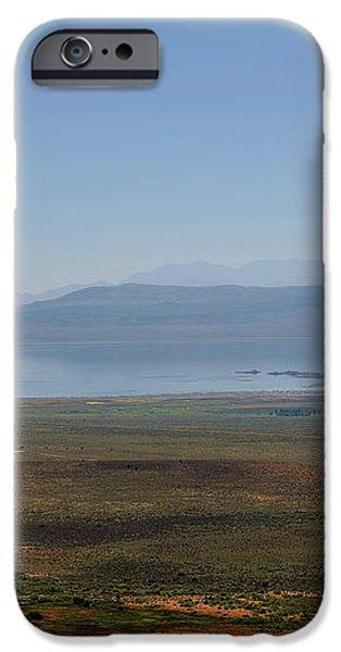 Mono Basin Landscape - California iPhone Case by Christine Till