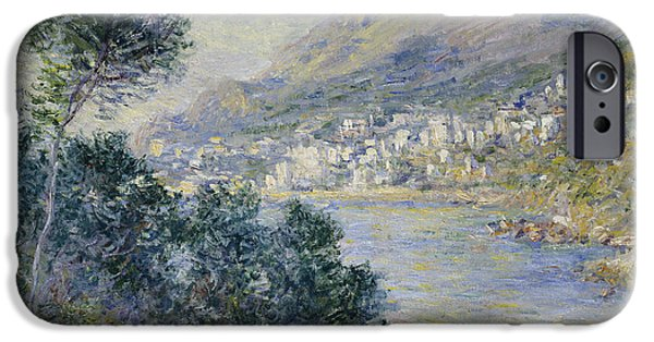 Sailboats iPhone Cases - Monte Carlo iPhone Case by Claude Monet