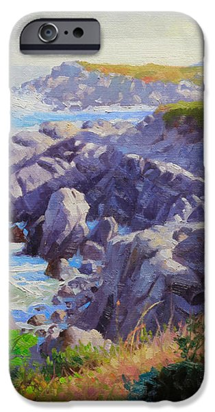Monteray Bay morning 1 iPhone Case by Gary Kim