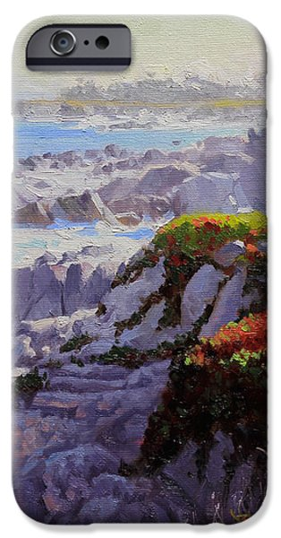 Monteray Bay morning 2 iPhone Case by Gary Kim