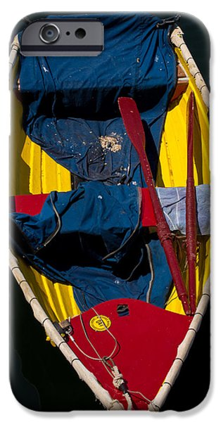 Skiff iPhone Cases - Monterey Skiff iPhone Case by John Daly