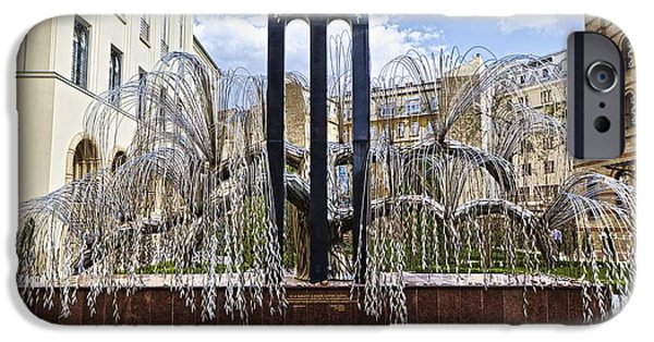 Stainless Steel iPhone Cases - Monument Tree iPhone Case by Warren Paul Harris