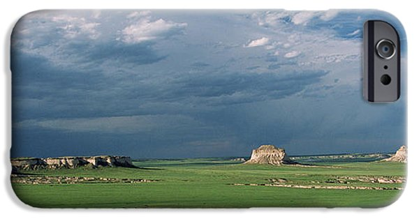 Fort Collins Photographs iPhone Cases - Moody-Buttes iPhone Case by Jim Benest