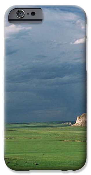 Moody-Buttes iPhone Case by Jim Benest