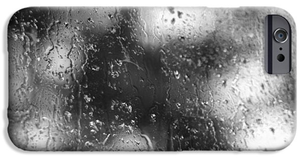Morning iPhone Cases - Moody Morning Rain iPhone Case by Dan Sproul