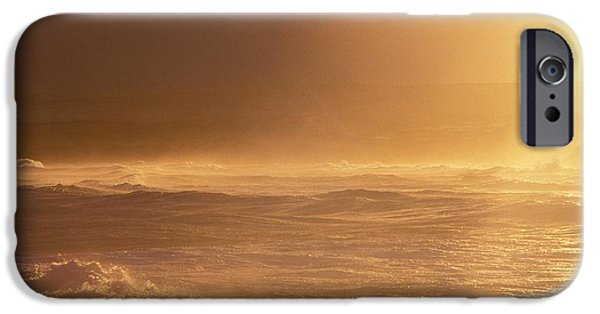 Turbulent Skies iPhone Cases - Moomomi Beach Sunset iPhone Case by William Waterfall - Printscapes