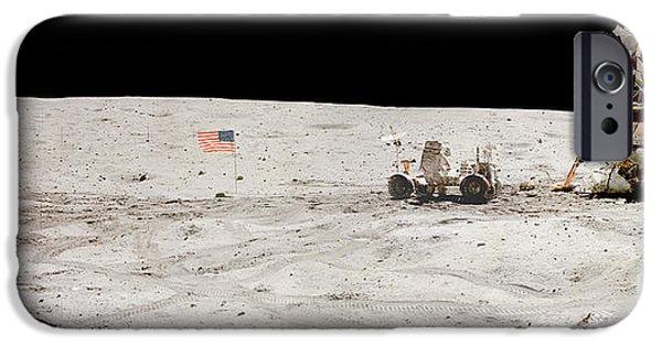 Moon Walk iPhone Cases - Moon Condo iPhone Case by Jon Neidert