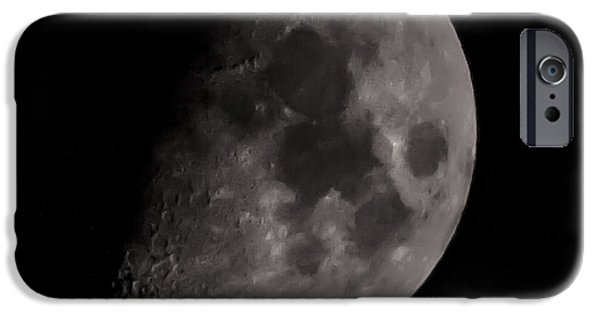 Moon iPhone Cases - Moon iPhone Case by Martin Newman