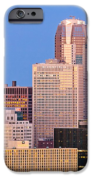 Moon over Pittsburgh 2 iPhone Case by Emmanuel Panagiotakis