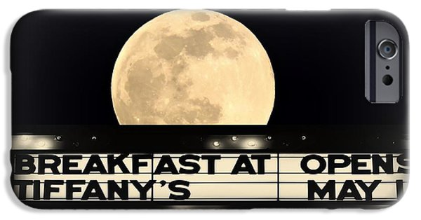 Nineteenth iPhone Cases - Moon Over Tiffanys iPhone Case by Tami Quigley