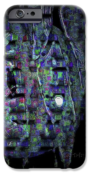 MOONLIGHT SHADOW iPhone Case by Mimulux patricia no
