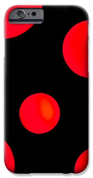 Falling iPhone Cases - Moonlighting iPhone Case by Az Jackson