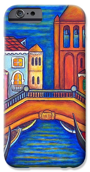 Moonlit San Barnaba iPhone Case by Lisa  Lorenz