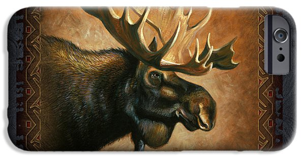 Wildlife iPhone Cases - Moose Lodge iPhone Case by JQ Licensing