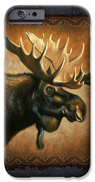Moose Lodge iPhone Case by JQ Licensing