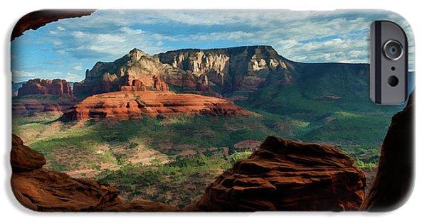Best Sellers -  - Sedona iPhone Cases - Moose Ridge 06-056 iPhone Case by Scott McAllister
