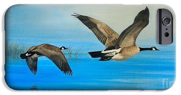 Flight iPhone Cases - Morning Flight iPhone Case by Kevin Ballew