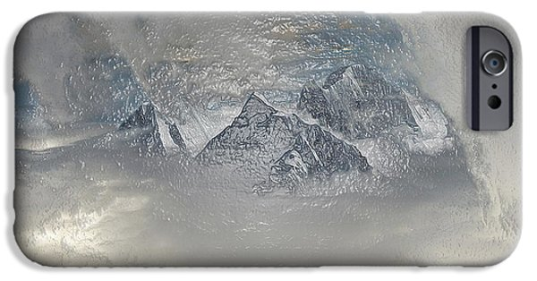 Snowy Night iPhone Cases - Morning Fog iPhone Case by Scott Mendell