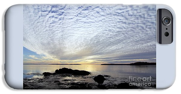 Scott Nelson Photographs iPhone Cases - Morning Glory iPhone Case by Scott Nelson