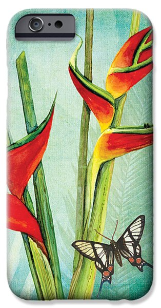 Botanical iPhone Cases - Morning Light - Serenity iPhone Case by Audrey Jeanne Roberts