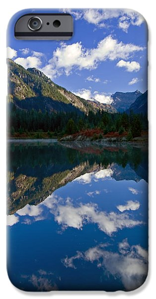 Mist iPhone Cases - Morning Musings iPhone Case by Mike  Dawson
