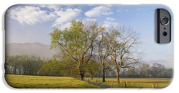 Morning iPhone Cases - Morning On Sparks Lane iPhone Case by Harold Stinnette