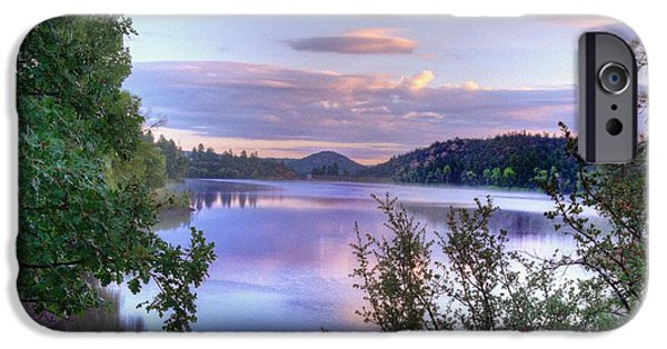 Prescott iPhone Cases - Morning Reflections iPhone Case by Thomas  Todd