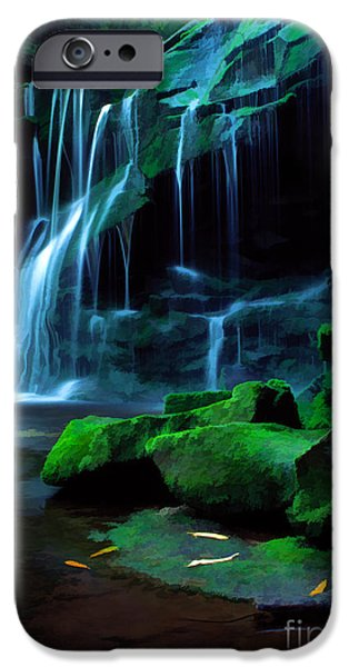 Cathedral Rock iPhone Cases - Morning Solitude iPhone Case by Darren Fisher