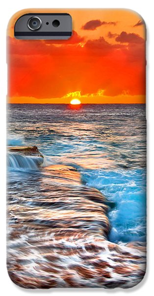 Morning iPhone Cases - Morning Sun iPhone Case by Az Jackson
