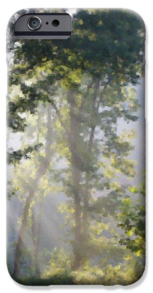 Morning Sun iPhone Case by Kristin Elmquist