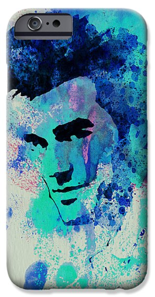 British Portraits iPhone Cases - Morrissey iPhone Case by Naxart Studio