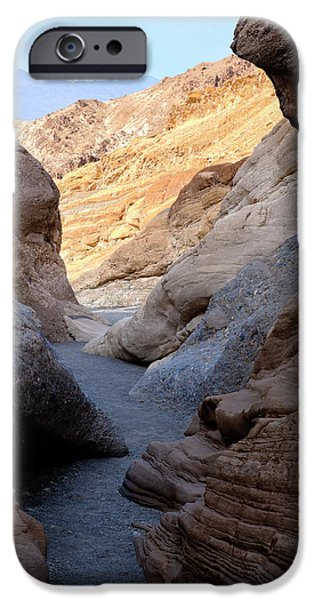 Mosaic iPhone Cases - Mosaic Canyon iPhone Case by Kelley King